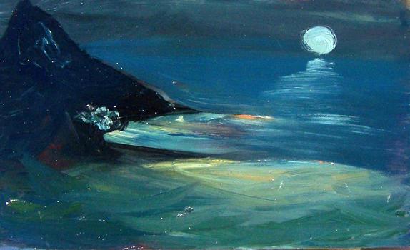 Αυγουστιάτικο φεγγάρι