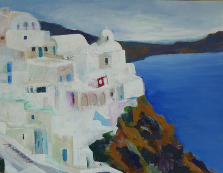 Morning in Fira